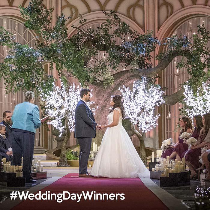 #wedding day winners