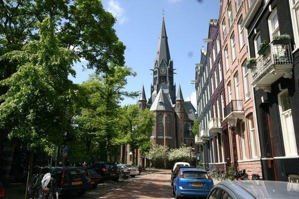 Vondelkerk streetview Amsterdam Church Wedding Venues