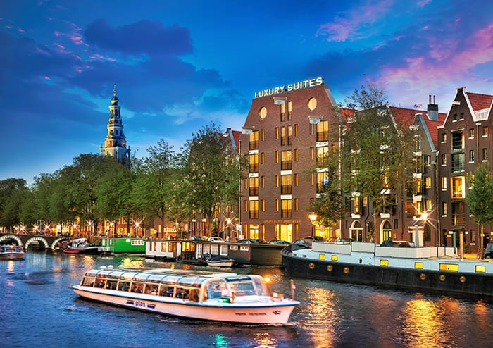 luxury suites amsterdam for weddings and special occasions
