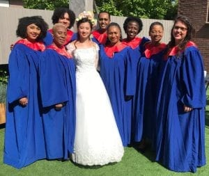 gospel gowns witte kerkje terheijden