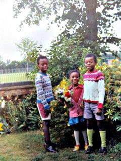 about me clover jean with brothers Seaton and Thomas