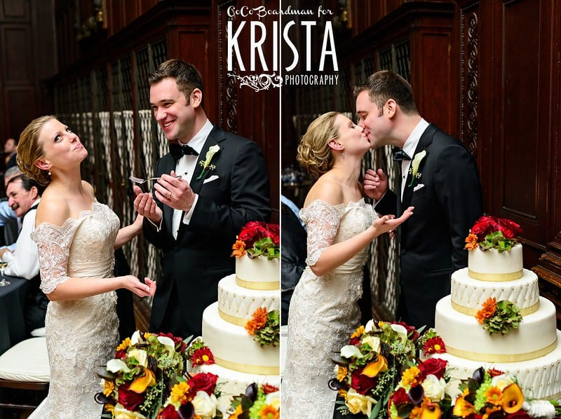 sweetest wedding songs bride and groom sharing cake and kissing