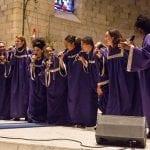 black gospel choirs ten singers dancing