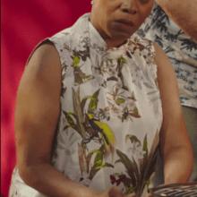 beautiful pictures mooiste fotos zwarte vrouw met BBQ