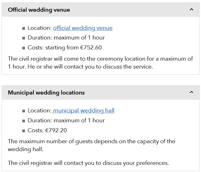 Dutch wedding guide costs of getting married in Amsterdam