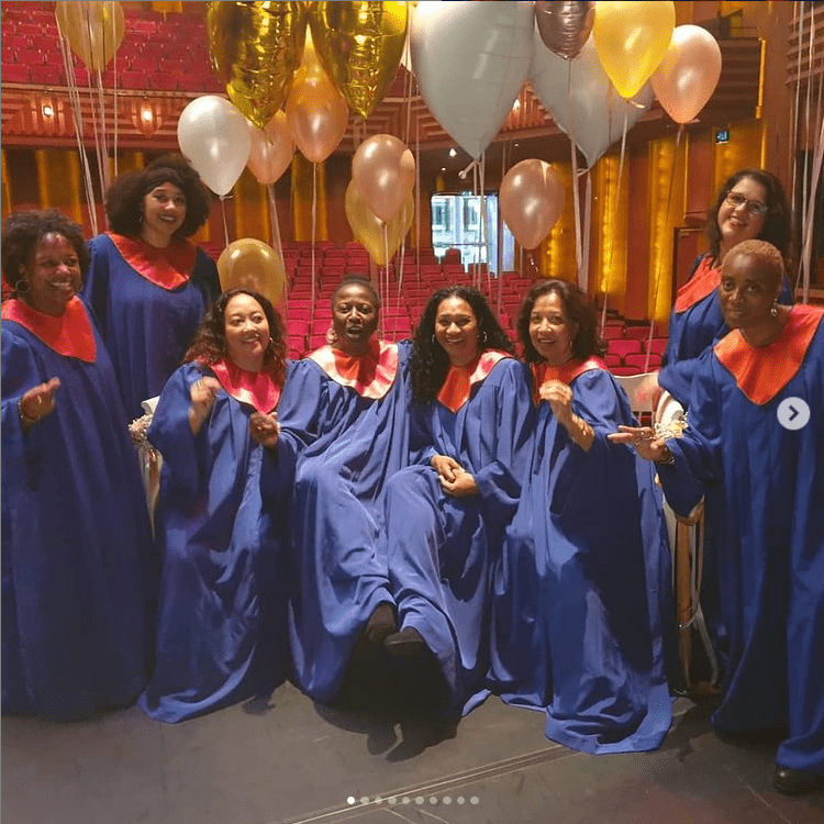 gospel soul show Impress your guests choir performing in Zwolle theater